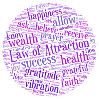 picture of the law of attraction affirmations